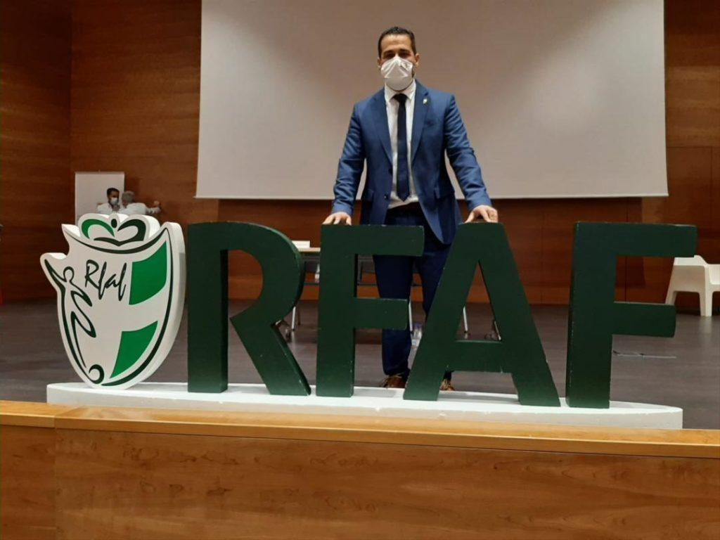 La Junta Electoral designa oficialmente a Pablo Lozano como presidente RFAF