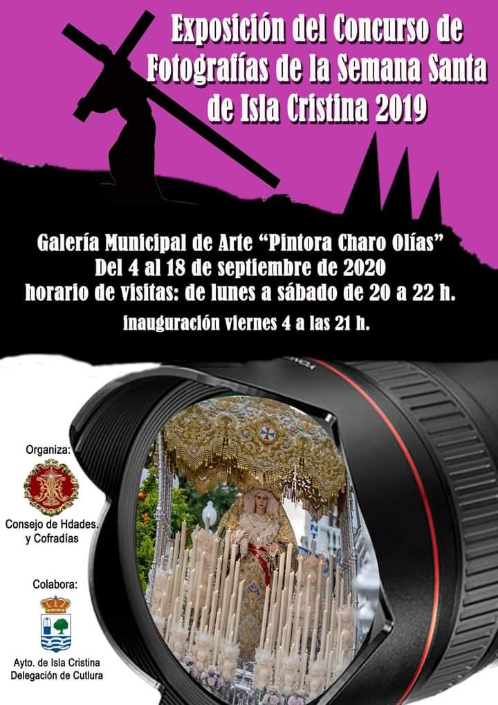 Exposición del Concurso de Fotografías de la Semana Santa de Isla Cristina 2019