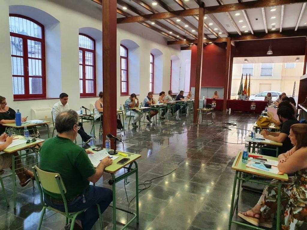 Celebrado el Pleno del mes de julio en el Ayuntamiento de Isla Cristina