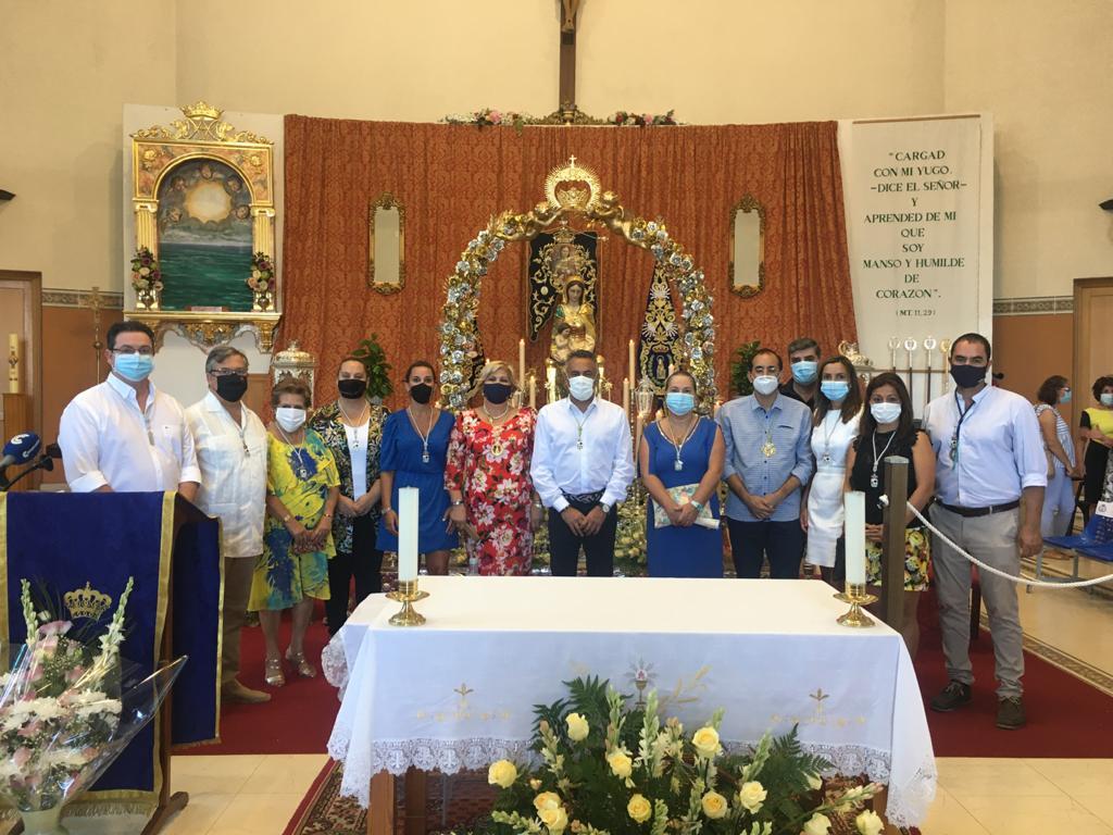 La Barriada dePunta del Caimán celebra la Festividad de su Patrona, la Virgen del Mar