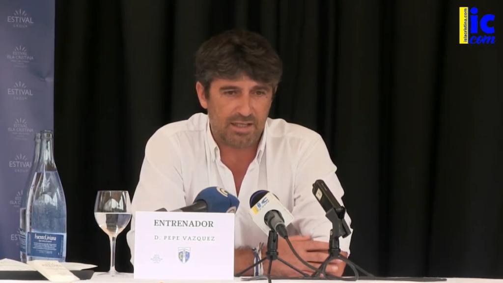 Pepe Vázquez: «Tengo una vinculación con el Isla Cristina que siente como suya