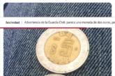 Parece una moneda de dos euros, pero solo vale 24 céntimos