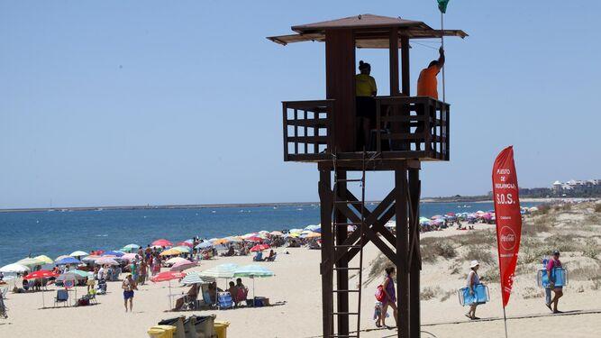 Los diez socorristas de Isla Cristina dan negativo en las pruebas PCR
