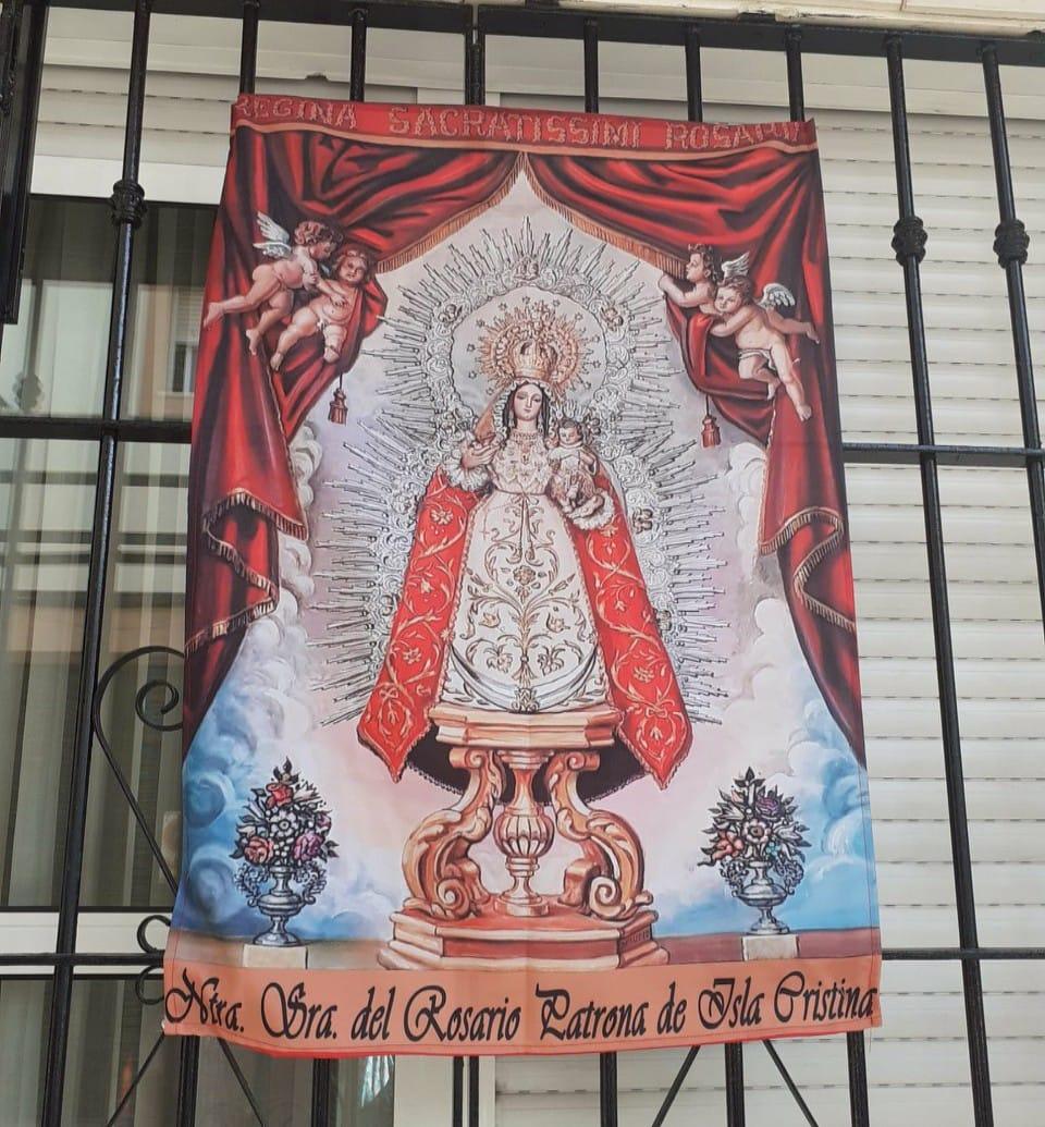Cultos a la STMA. Virgen del Rosario Patrona de Isla Cristina