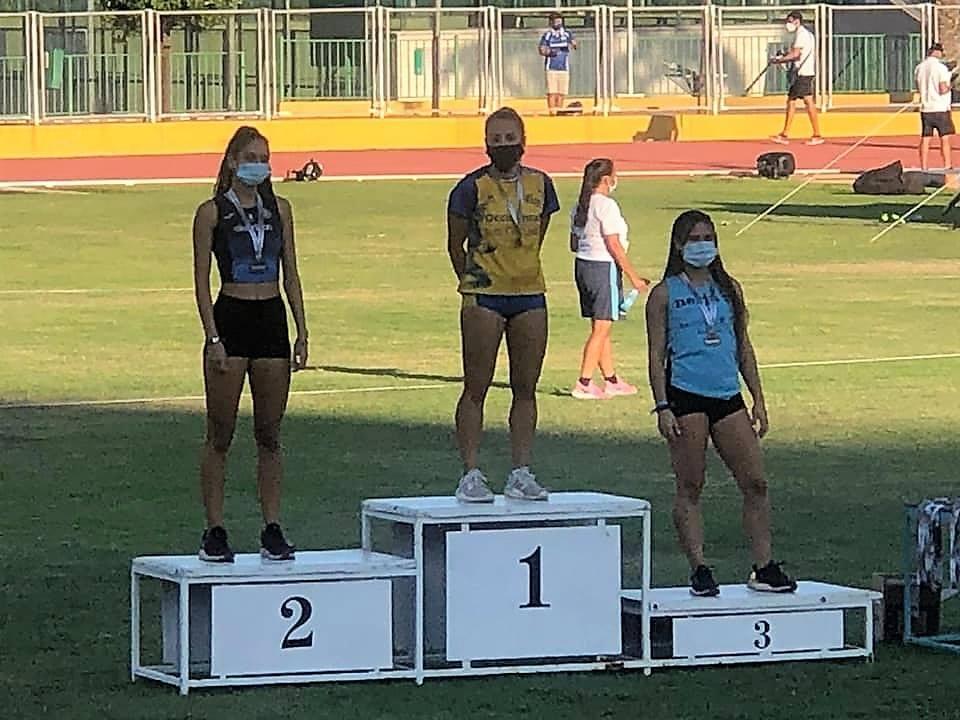 Granizada de medallas en los Campeonatos de Andalucía sub 18 y sub 20