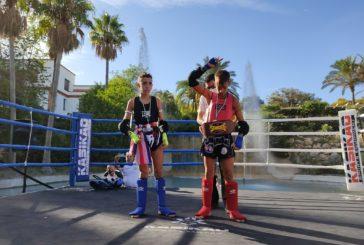 """El luchador isleño Miguel Pérez González Campeón """"SANDEE"""" en Estepona"""