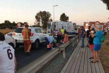 Varios heridos en una colisión en Pozo del Camino