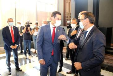 Caraballo exige al presidente de la Junta de Andalucía mayor financiación para los ayuntamientos