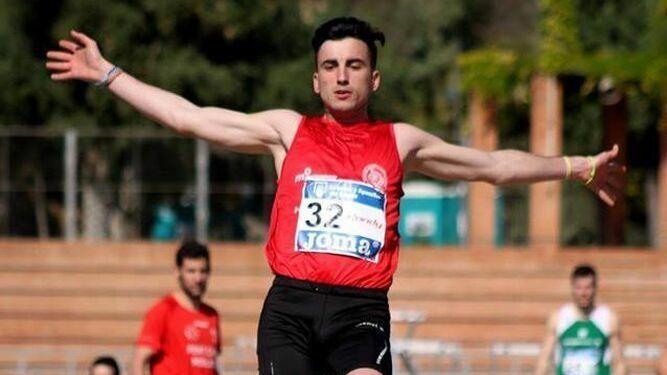 El triplista Carlos Martín mejora puesto en el Campeonato de España