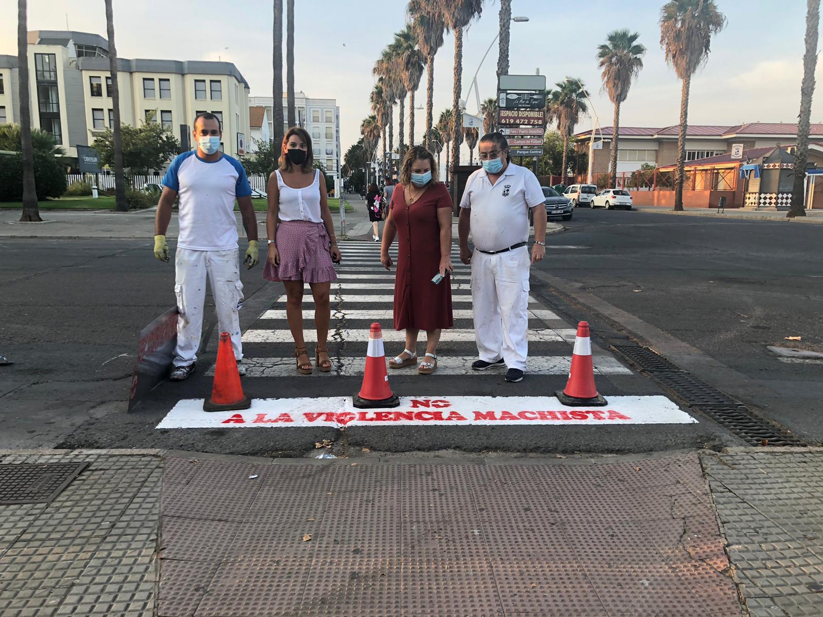 Isla Cristina continua concienciando a la población contra la Violencia de Género