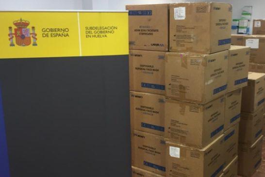 Isla Cristina recibirá más de 70.000.mascarillas del Gobierno