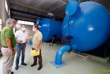 Giahsa realiza mejora el abastecimiento de agua en la Costa Occidental de Huelva