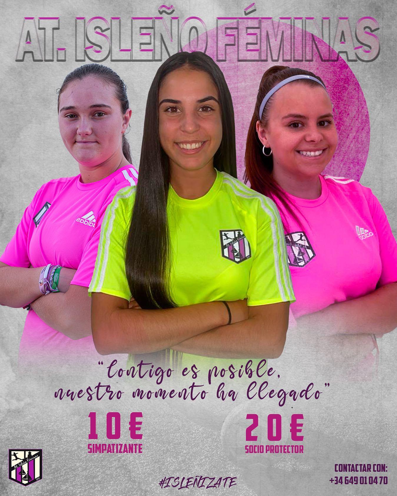 En marcha el Atlético Isleño Féminas
