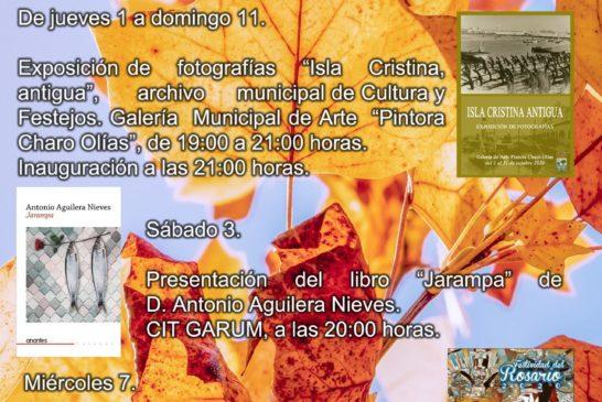 Agenda Cultural Isla Cristina Octubre 2020