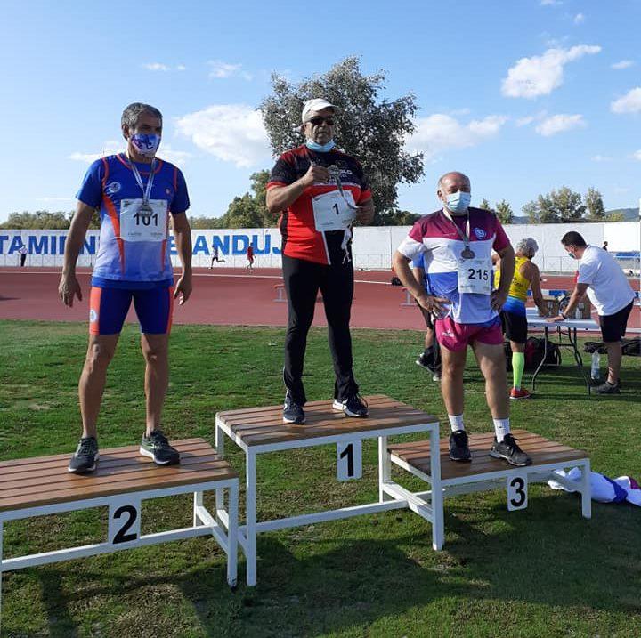 Triunfo del Atletismo isleño en el Campeonato de Andalucía Máster