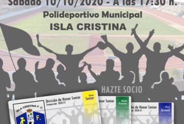 Isla Cristina y Recre Juvenil Este sábado en el Estadio Municipal