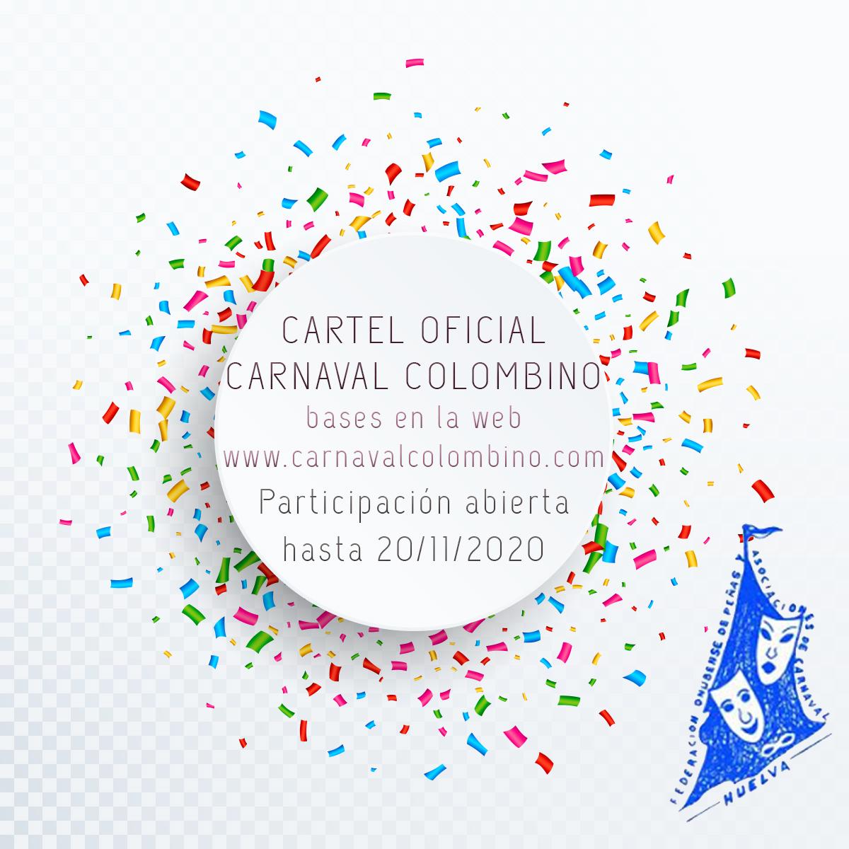Bases para el XXXIII Concurso del Cartel Oficial del Carnaval Colombino 2021
