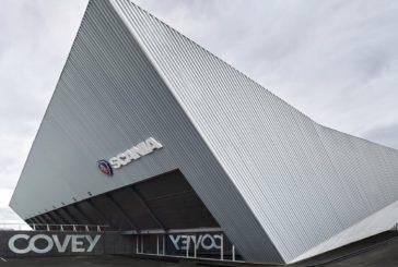 Las nuevas instalaciones de SCANIA, en el Parque Huelva Empresarial, Premio de Arquitectura del COAH 2020
