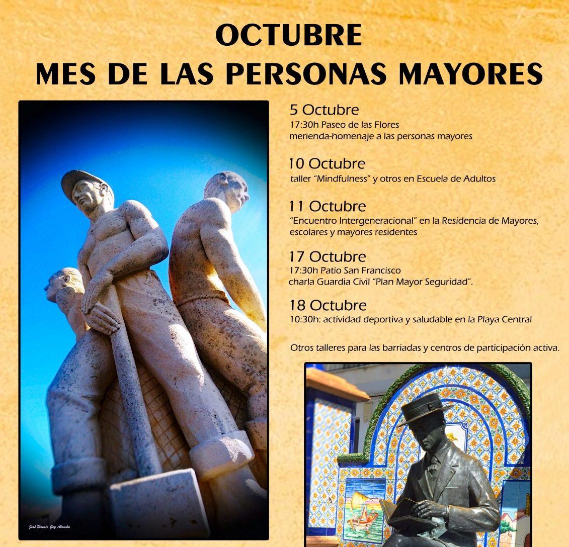 Suspendido el III Mes del Mayor en Isla Cristina