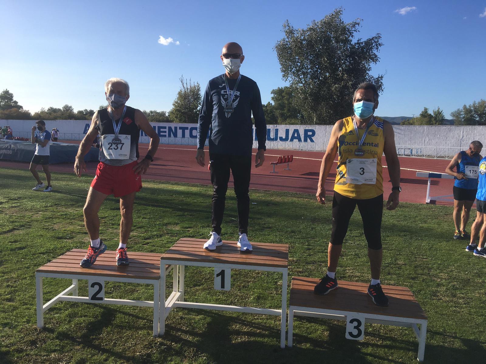 Oro, Plata y Bronce para los veteranos del Club Atletismo Isla Cristina