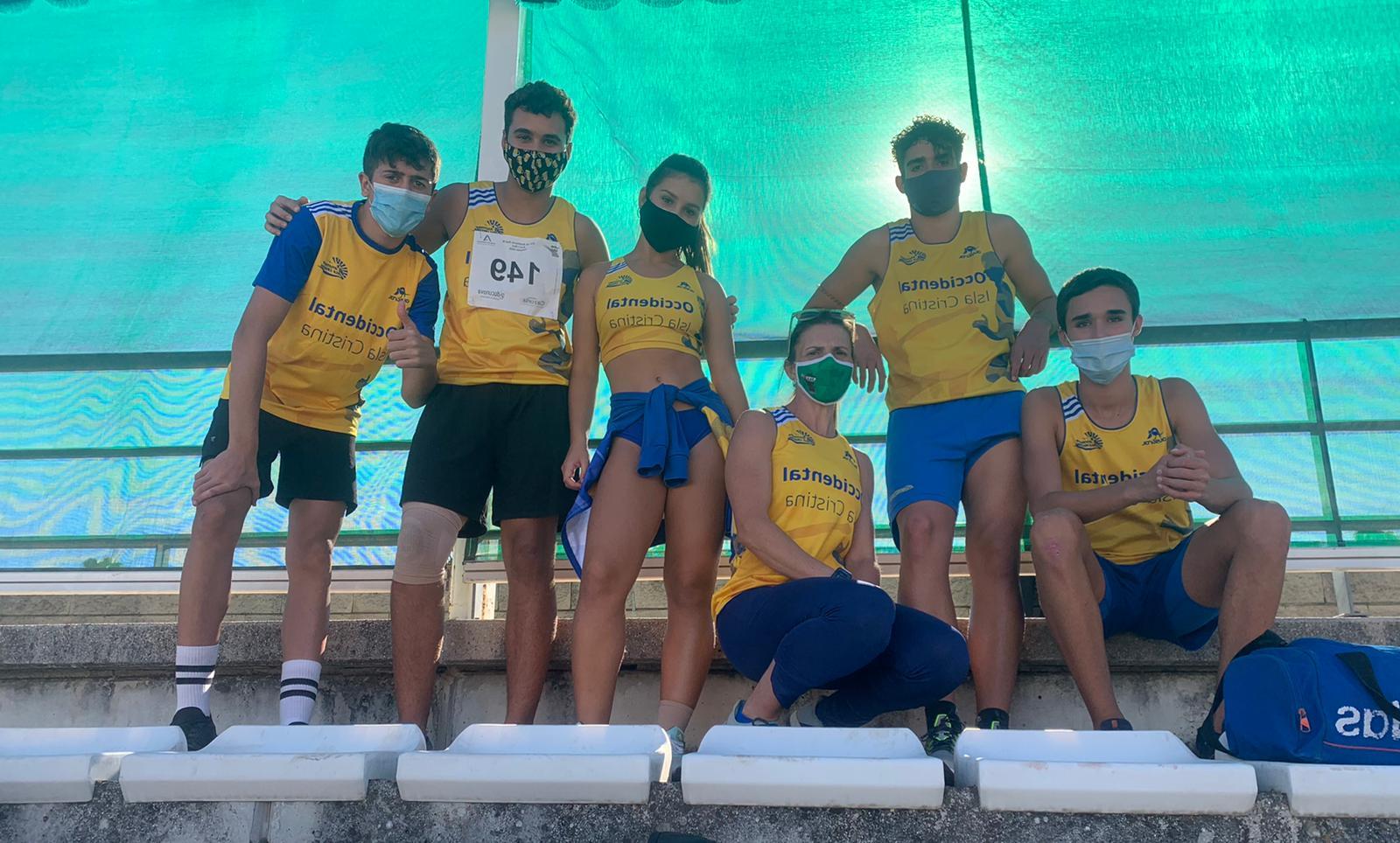 Sobresaliente la cantera del C.A. Isla Cristina en el Campeonato de Andalucía Sub 16
