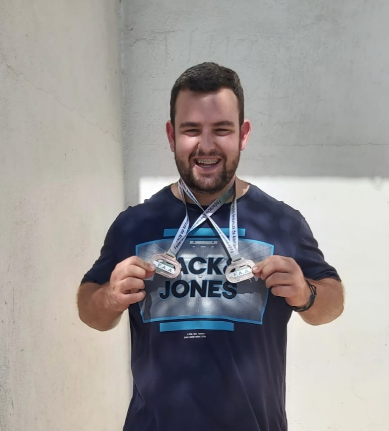 El lanzador isleño Riki Orta, a por el podio del Campeonato de Andalucía Júnior