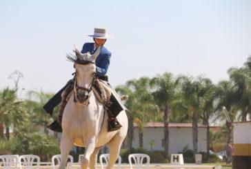 El Caballo Fandango de Rocío Ramírez se lleva el Campeonato de Andalucía de Doma Vaquera de 'jóvenes jinetes'