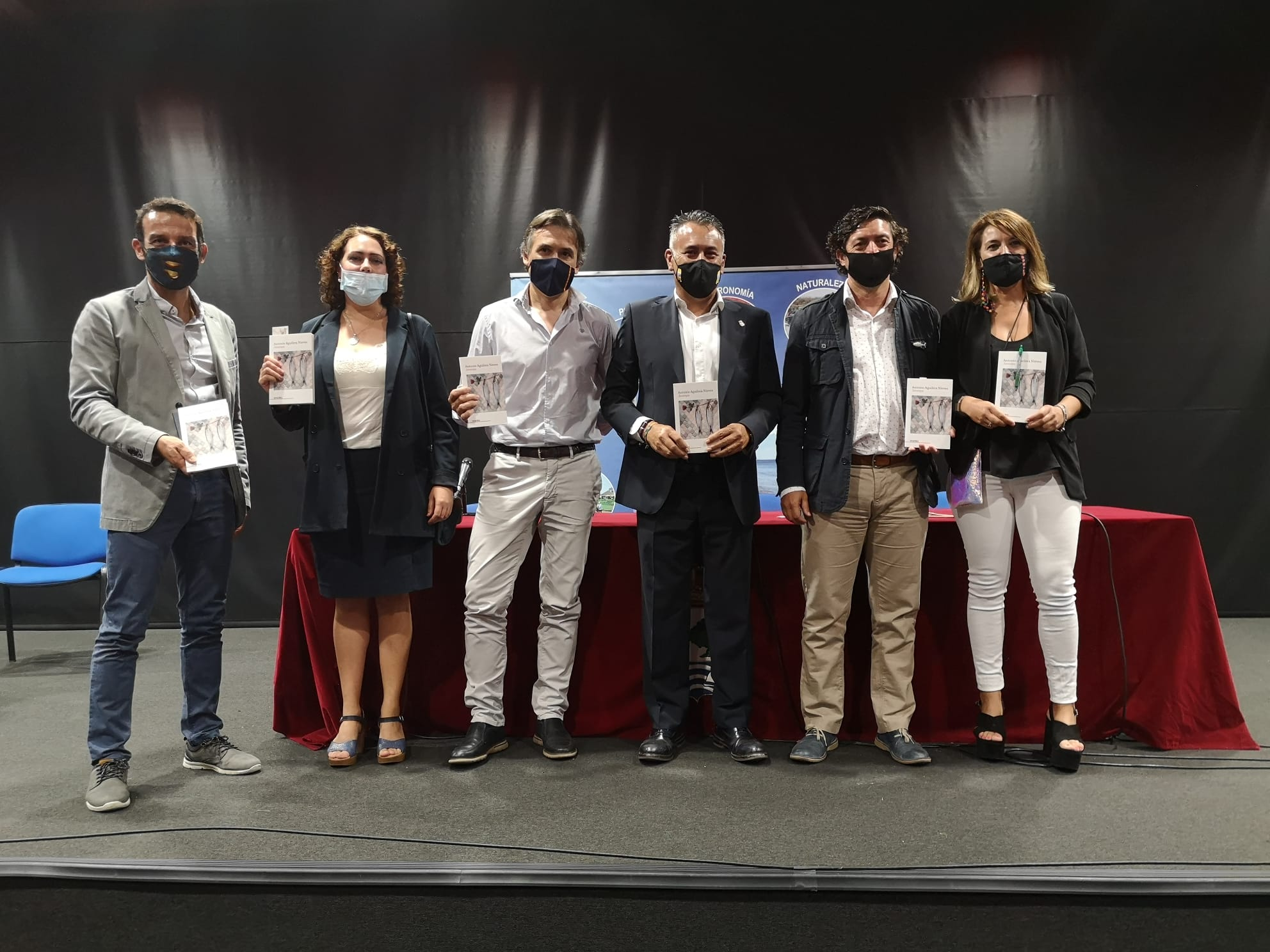 Antonio Aguilera Nieves presenta en Isla Cristina Jarampa su nuevo libro de relatos