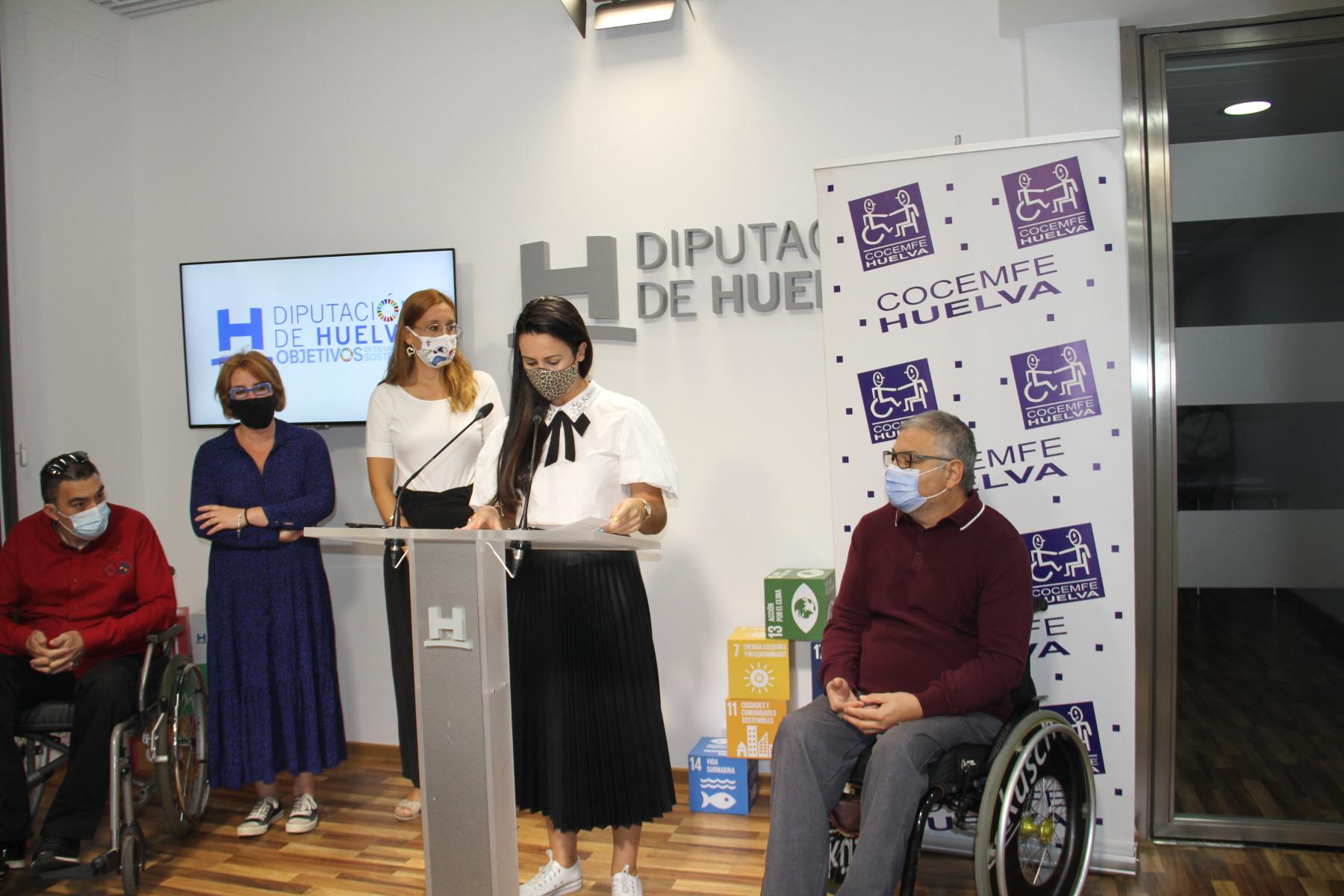 Diputación y COCEMFE promueven la autonomía en personas con discapacidad y vulnerabilidad de la provincia