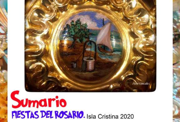 Programación Festividad Ntra. Sra. Del Rosario Isla Cristina 2020