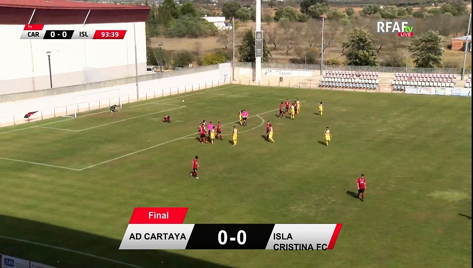 Valioso empate del Isla Cristina en Cartaya