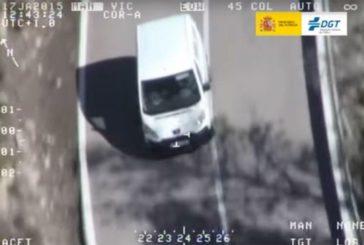 Campaña de control de la DGT sobre las furgonetas