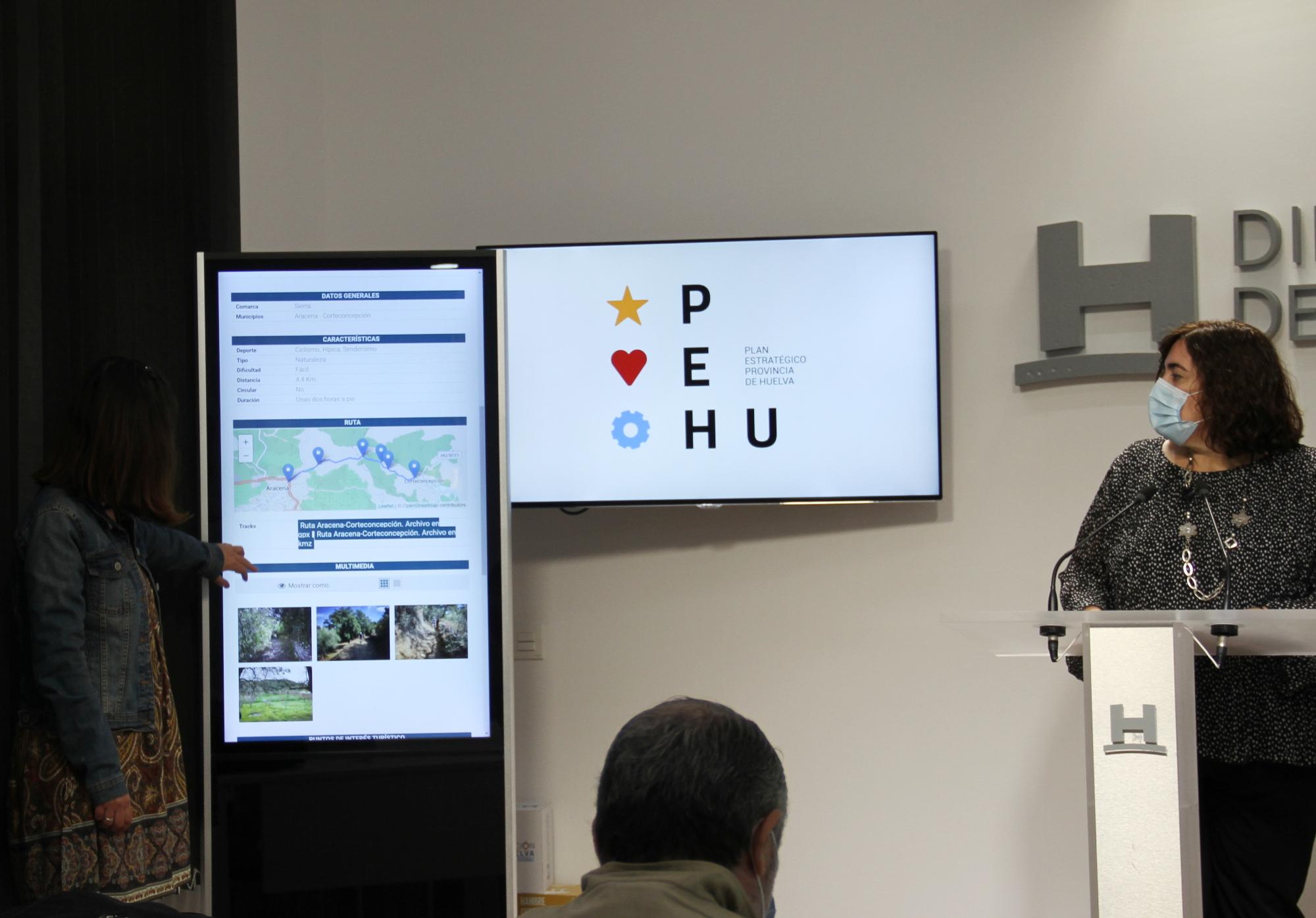 'Huelva en Ruta', una nueva app-web para móvil sobre las distintas rutas de ciclismo y senderismo de la provincia