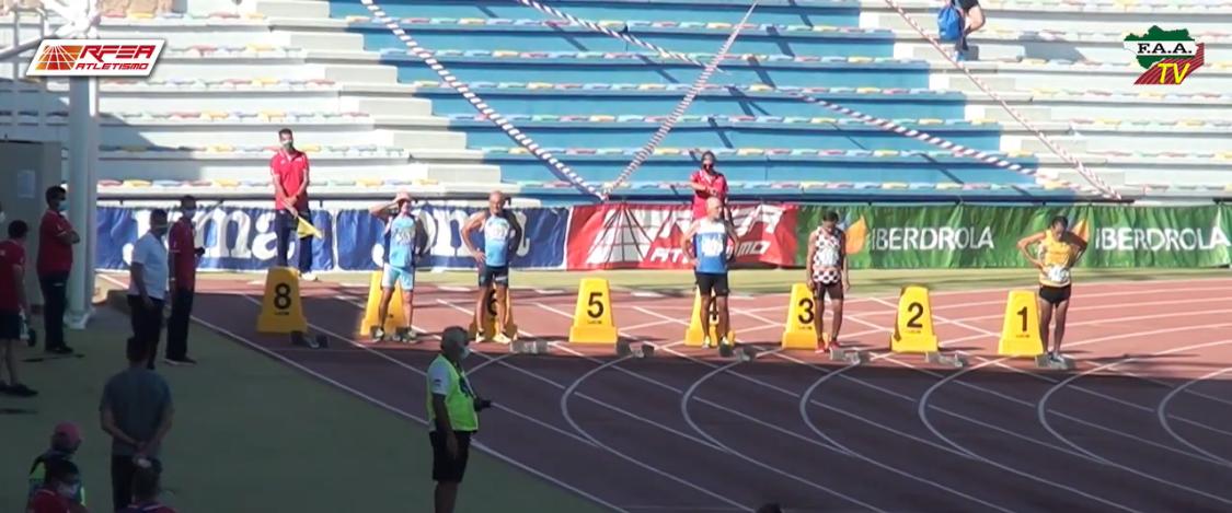 Antonio Librero C.A. Isla Cristina: Campeón de España Máster en 100 y 200 metros