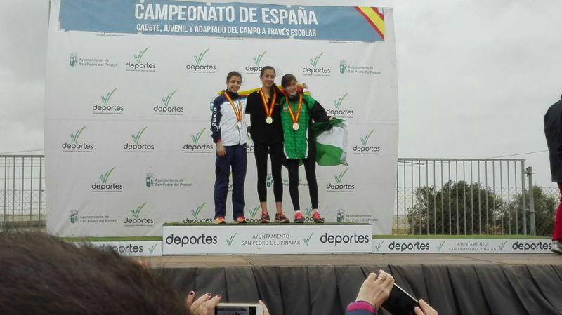 María Forero bronce con Andalucía en el Nacional de Federaciones Sub 18