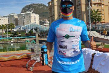 Rubén Gutiérrez brilla en Gibraltar, con la victoria en Máster (35-49) en la Endurance Swim