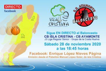 Debut del C.B. Isla Cristina Sénior
