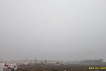 La lluvia protagonista de la semana en Isla Cristina