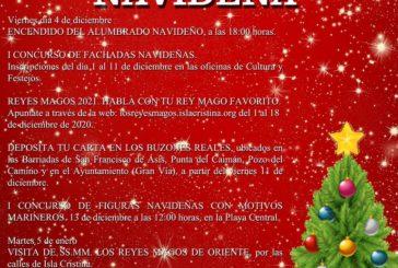 Programación de Navidad 2020 Ayuntamiento de Isla Cristina