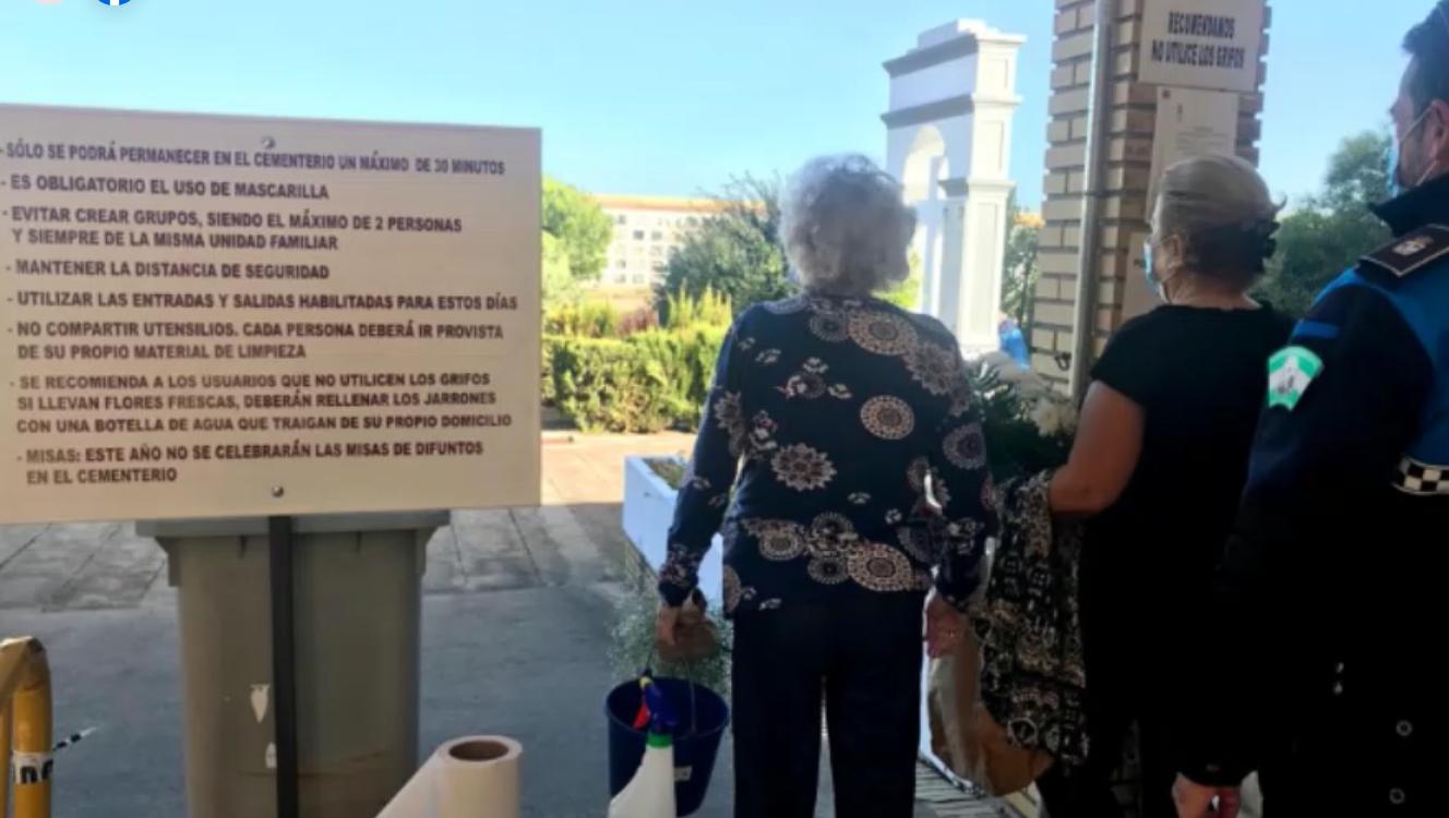Andalucía vive su 'Tosantos' más extraño