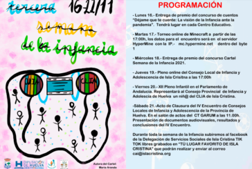 Programación de la III Semana de la Infancia a celebrar en Isla Cristina