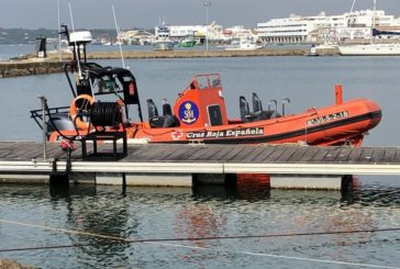 Evacúan de Isla Cristina al Infanta Elena a un marinero desde un pesquero con base en Ayamonte