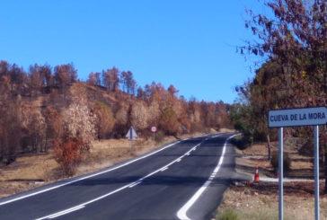 Diputación finaliza las obras de dos carreteras de la provincia que han contado con una inversión de 900.000 euros