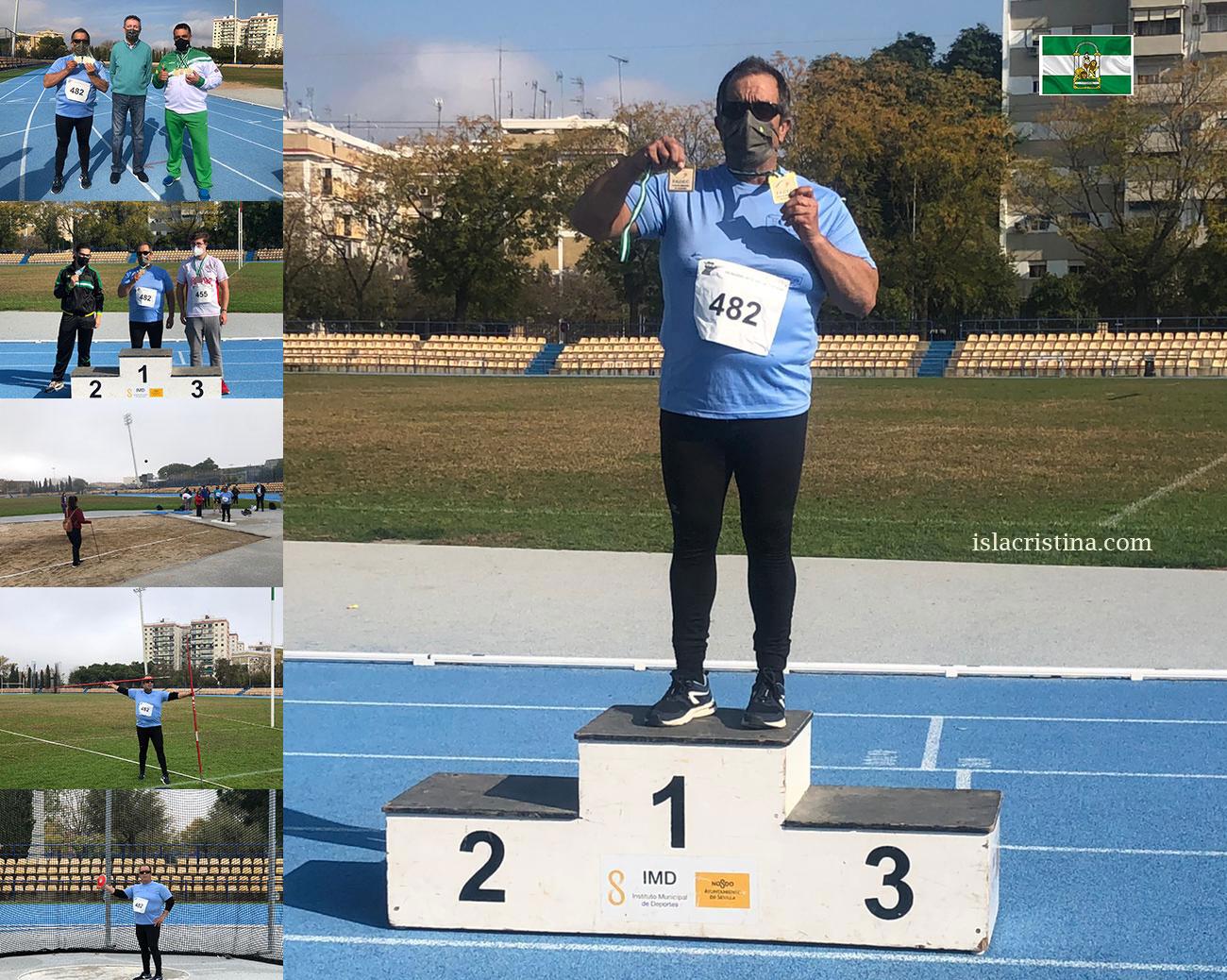 Toni Palma triunfador del Campeonato de Andalucía FADEC