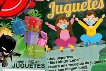 Club Deportivo Mushindo y Gym Eurosport solidarios con los niños