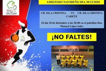 Partidazo de Baloncesto en el D. Manuel López Soler de Isla Cristina