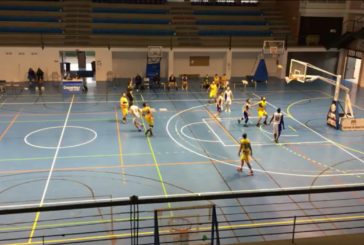 Tropiezo del Club Baloncesto Isla Cristina en Lepe