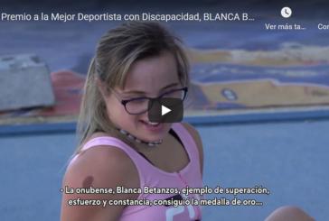 Premio a la Mejor Deportista con Discapacidad, Blanca Betanzos Orihuela