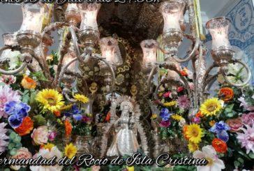 La Hermandad del Rocío de Isla Cristina celebró su primera sabatina de 2021