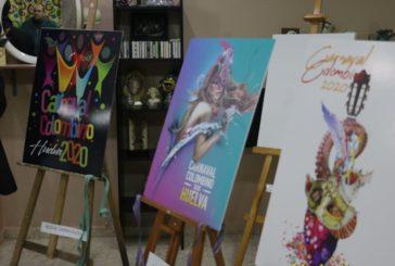 La Casa Colón acoge del 12 al 15 de enero la exposición de las obras aspirantes a cartel oficial del Carnaval Colombino
